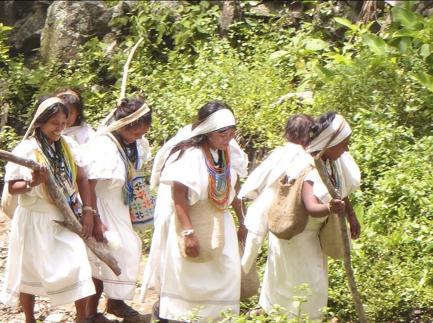 Ženy kmene Arhuacos